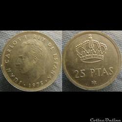 25 Pesetas 1975 (79)