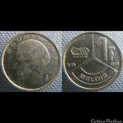 1 Franc 1989 fl