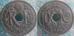 10 Centimes 1941