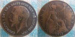 1 Penny 1915