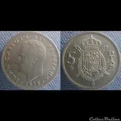 5 pesetas 1975 (77)