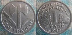 1 Franc 1942 lourde