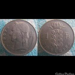 1 Franc 1967 fl