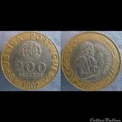 200 Escudos 1992
