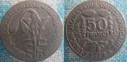 50 Francs 1972