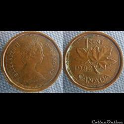 1 Cent 1982
