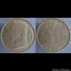 5 Francs 1971 fl