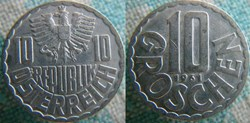 10 Groschen 1961