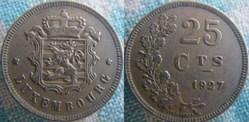 25 Centimes 1927