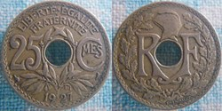 25 Centimes 1927