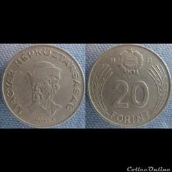 20 Forint 1982