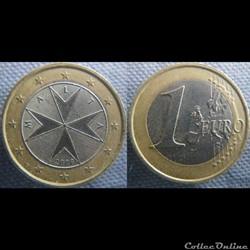 1 Euro 2008 F