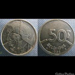 50 Francs 1992 fr