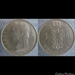 1 Franc 1971 fr
