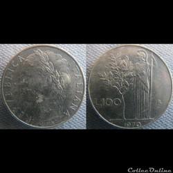 100 Lire 1970