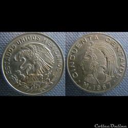 50 Centavos 1967