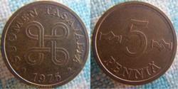 5 Penniä 1975