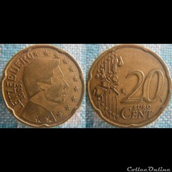 20 euro cent 2005 S