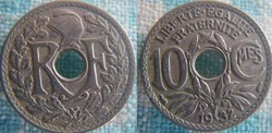10 Centimes 1932