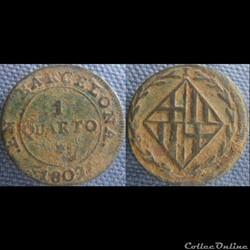 1 Quarto Barcelone 1809