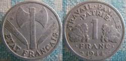 1 Franc 1944 B