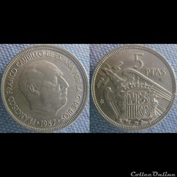 5 pesetas 1957 (68)