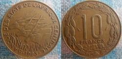 10 Francs 1983