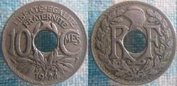 10 Centimes 1924 Poissy