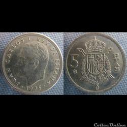 5 pesetas 1975 (80)