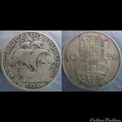 10 Escudos 1954