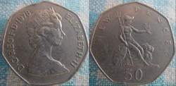 50 New Pence 1978
