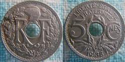 5 Centimes 1938