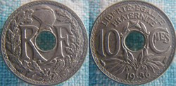 10 Centimes 1936