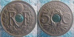 5 Centimes 1919