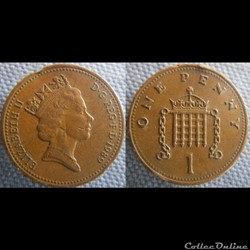 1 Penny 1989