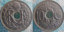 10 Centimes 1938