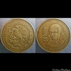 1000 Pesos 1988