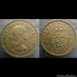 1 Shilling 1959