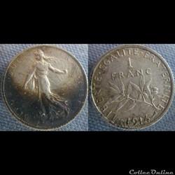 1 Franc 1914