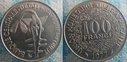 100 Francs 1977