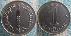 1 Centime 1967