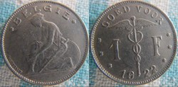 1 Franc 1922 Fl