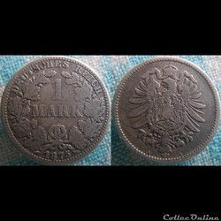 1 mark 1875 A
