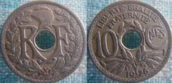 10 Centimes 1926