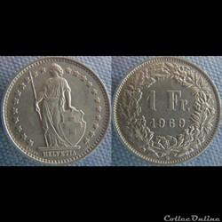 1 Franc 1969 B