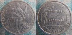 1 Franc 2001