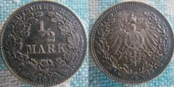 1/2 mark 1912 D