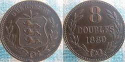 8 Doubles 1889 H