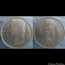 1 Franc 1966 fl
