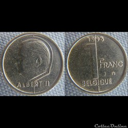 1 Franc 1995 fr